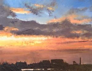 sunset over Botallack