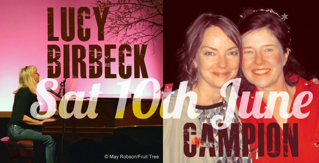 Lucy Birbeck and Campion LIVE MUSIC Night 10th June 17