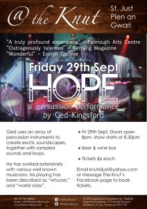 Ged Kingsford - Hope - Poster