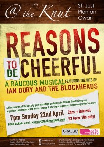 Reasons To Be Cheerful movie poster
